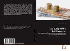 Buchcover von Das Europäische Beihilfenrecht