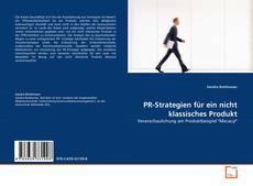 Buchcover von PR-Strategien für ein nicht klassisches Produkt