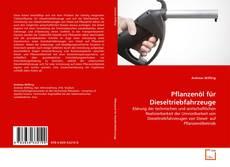 Capa do livro de Pflanzenöl für Dieseltriebfahrzeuge