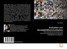 Buchcover von Evaluation von Bewegtbildkommunikation