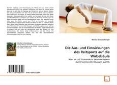 Обложка Die Aus- und Einwirkungen des Reitsports auf die Wirbelsäule
