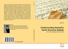 Обложка Understanding Rzewski's North American Ballads
