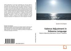 Bookcover of Valence Adjustment in Sidaama Language