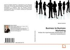 Bookcover of Business to Business Marketing