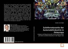 Portada del libro de Zuliefernetzwerke der Automobilindustrie in Osteuropa