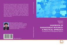 Borítókép a  HANDBOOK OF MANAGEMENT RESEARCH: A PRACTICAL APPROACH - hoz