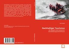 Portada del libro de Nachhaltiger Tourismus