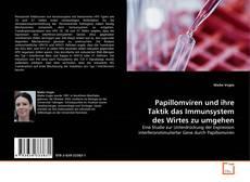 Papillomviren und ihre Taktik das Immunsystem des Wirtes zu umgehen kitap kapağı