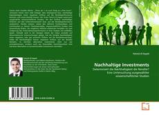 Bookcover of Nachhaltige Investments