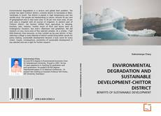 Capa do livro de ENVIRONMENTAL DEGRADATION AND SUSTAINABLE DEVELOPMENT-CHITTOR DISTRICT