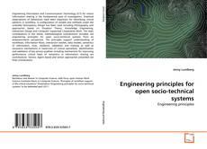 Capa do livro de Engineering principles for open socio-technical systems