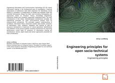 Portada del libro de Engineering principles for open socio-technical systems