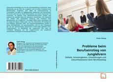 Bookcover of Probleme beim Berufseinstieg von Junglehrern