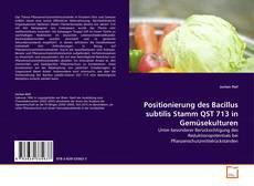 Bookcover of Positionierung des Bacillus subtilis Stamm QST 713 in Gemüsekulturen