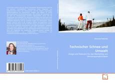 Buchcover von Technischer Schnee und Umwelt