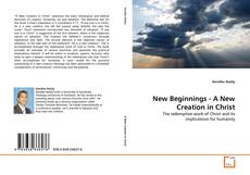 Обложка New Beginnings - A New Creation in Christ