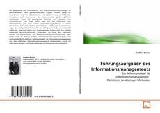 Buchcover von Führungsaufgaben des Informationsmanagements