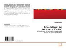 "Copertina di Erfolgsfaktoren der Dachmarke ""Südtirol"""
