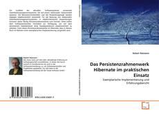 Portada del libro de Das Persistenzrahmenwerk Hibernate im praktischen Einsatz