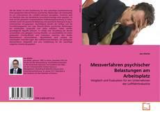Обложка Messverfahren psychischer Belastungen am Arbeitsplatz