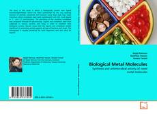 Copertina di Biological Metal Molecules