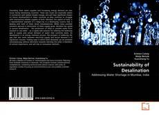 Portada del libro de Sustainability of Desalination