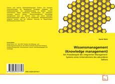 Copertina di Wissensmanagement (Knowledge management)