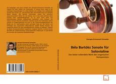 Bookcover of Béla Bartóks Sonate für Solovioline