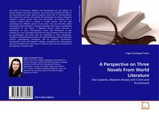 A Perspective on Three Novels From World Literature kitap kapağı