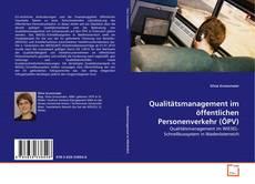 Portada del libro de Qualitätsmanagement im öffentlichen Personenverkehr (ÖPV)