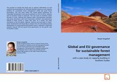 Capa do livro de Global and EU governance for sustainable forest management