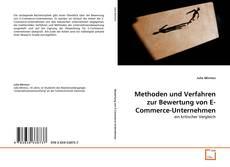 Bookcover of Methoden und Verfahren zur Bewertung von E-Commerce-Unternehmen