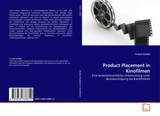 Bookcover of Product Placement in Kinofilmen