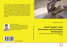 Buchcover von Social Capital, Caste Dominance and Panchayat Performance