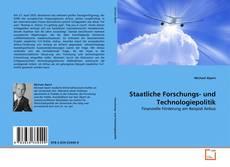 Capa do livro de Staatliche Forschungs- und Technologiepolitik