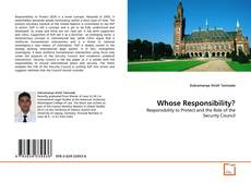 Bookcover of Whose Responsibility?