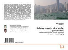 Capa do livro de Bulging capacity of granular pile-anchors