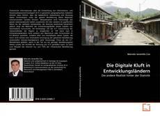 Die Digitale Kluft in Entwicklungsländern kitap kapağı