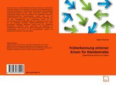 Обложка Früherkennung externer Krisen für Kleinbetriebe