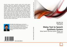 Malay Text to Speech Synthesis System kitap kapağı