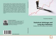 Buchcover von Statistical Arbitrage and Long Run Relations