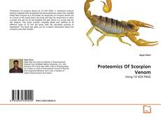 Copertina di Proteomics Of Scorpion Venom