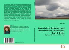 Buchcover von Menschliche Schönheit und Hässlichkeit in Erzähltexten des 19. Jhdts.