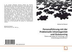 Personalführung mit der Problematik Inhomogenität und Outsourcing kitap kapağı