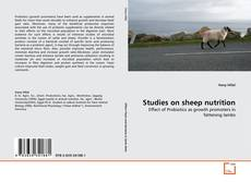 Bookcover of Studies on sheep nutrition