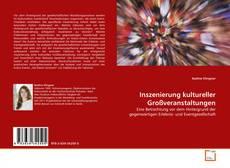 Bookcover of Inszenierung kultureller Großveranstaltungen
