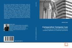 Bookcover of Comparative Company Law