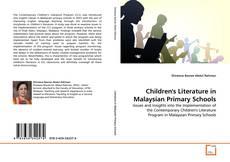 Portada del libro de Children's Literature in Malaysian Primary Schools