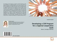 Bookcover of Developing a CSR Program for a regional cooperative bank