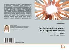 Copertina di Developing a CSR Program for a regional cooperative bank